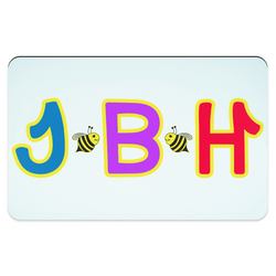 Pet Placemats - JBH Multicolor Bee