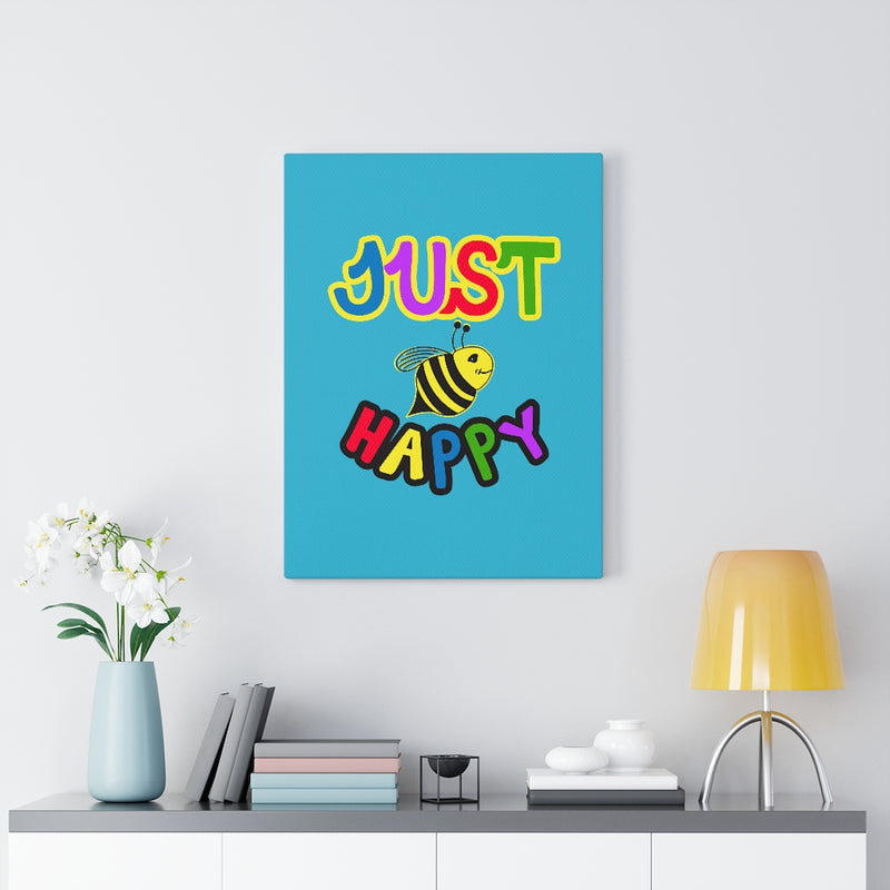 Turquoise Canvas Gallery Wraps - JBH Original Multicolor