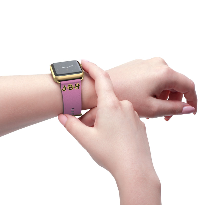 Pink Watch Band - JBH