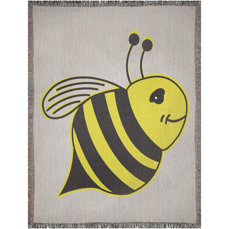 Woven Blankets - Bee