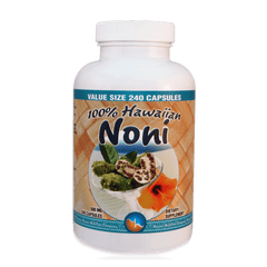 "10 Bottles of Hawaiian Noni Capsules 240 count|"" 优惠组 "" 八瓶 诺丽胶囊 240粒装"