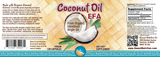 HNC Coconut Oil EFA Capsules, 120 count
