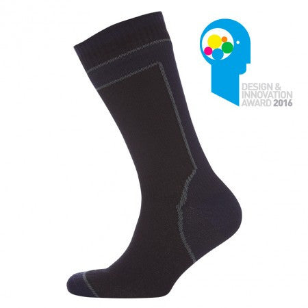 Sealskinz Mid Weight Mid Lenght Sock with Hydrostop