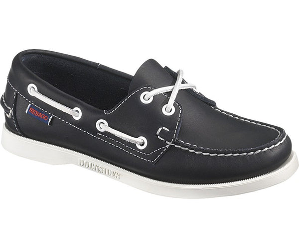 Sebago Docksides® Blue Nite Leather femmes
