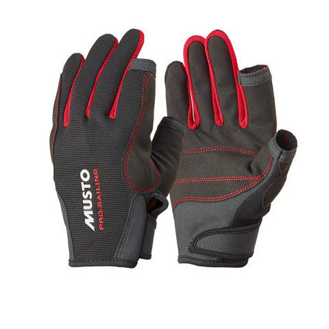 Musto Essential Sailing Gloves Black