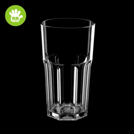 Incassable Verre transparent 33cl
