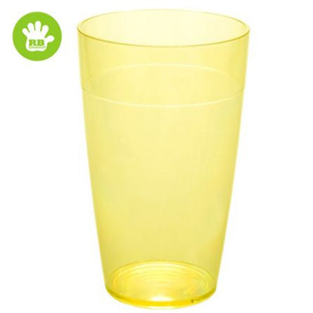 RB Drinks Gobelet éco jaune 33cl