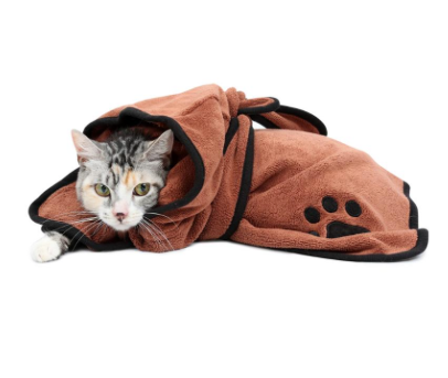 Pet Bathrobe - caturdayco