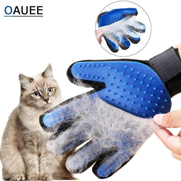 Cat Grooming Brush Glove