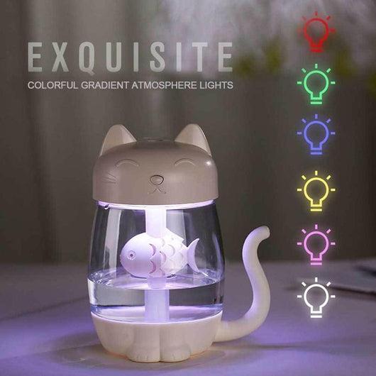 3 in 1 Cat Air Humidifier - caturdayco