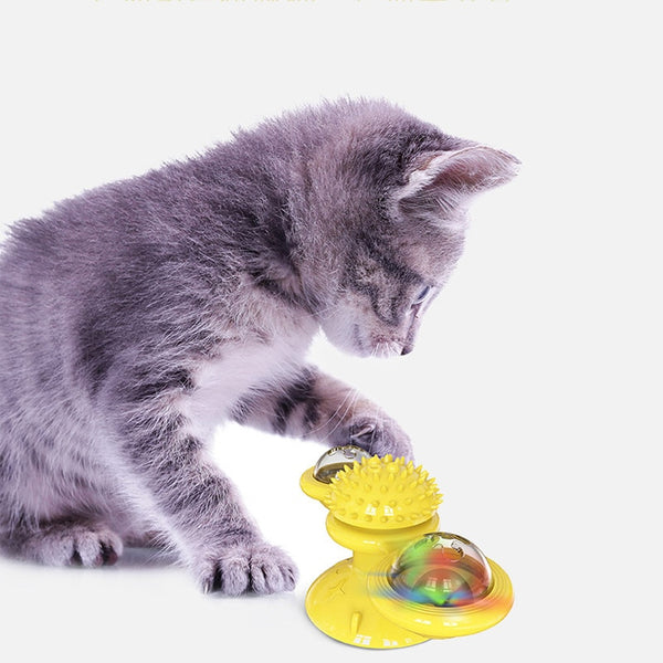 Cat Interactive Windmill Ball Whirling Toys - caturdayco