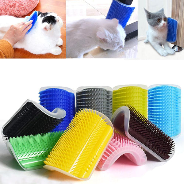 Removable Cat Corner Scratcher And Comb