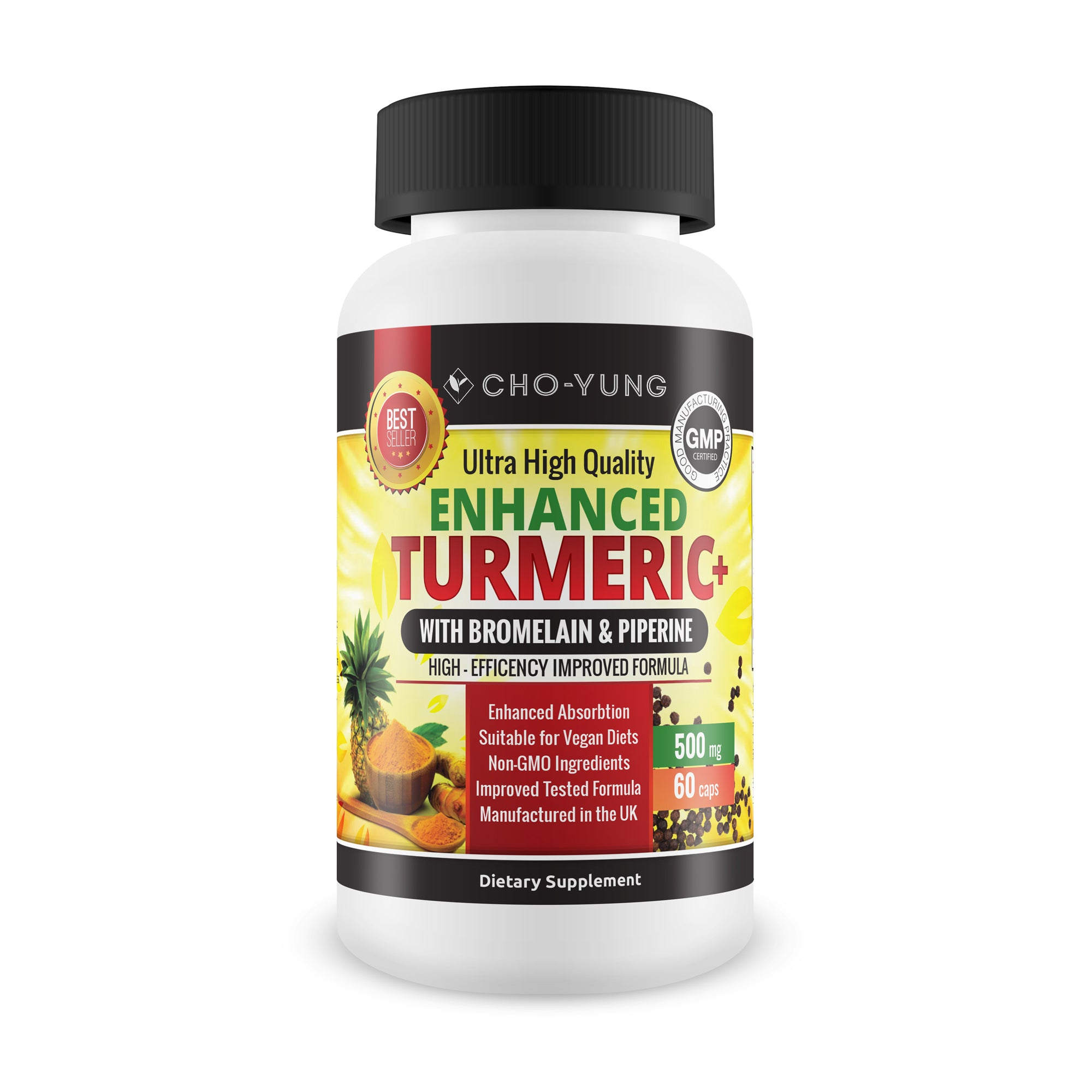 Enhanced Turmeric Plus - High Efficency Improved Formula