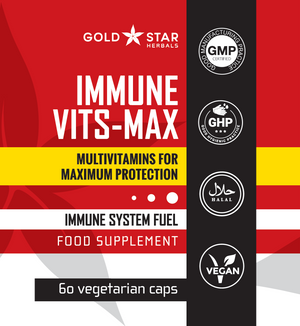Total Immune B C D & E Vits-Maximum Health 60 Full Strength Capsules
