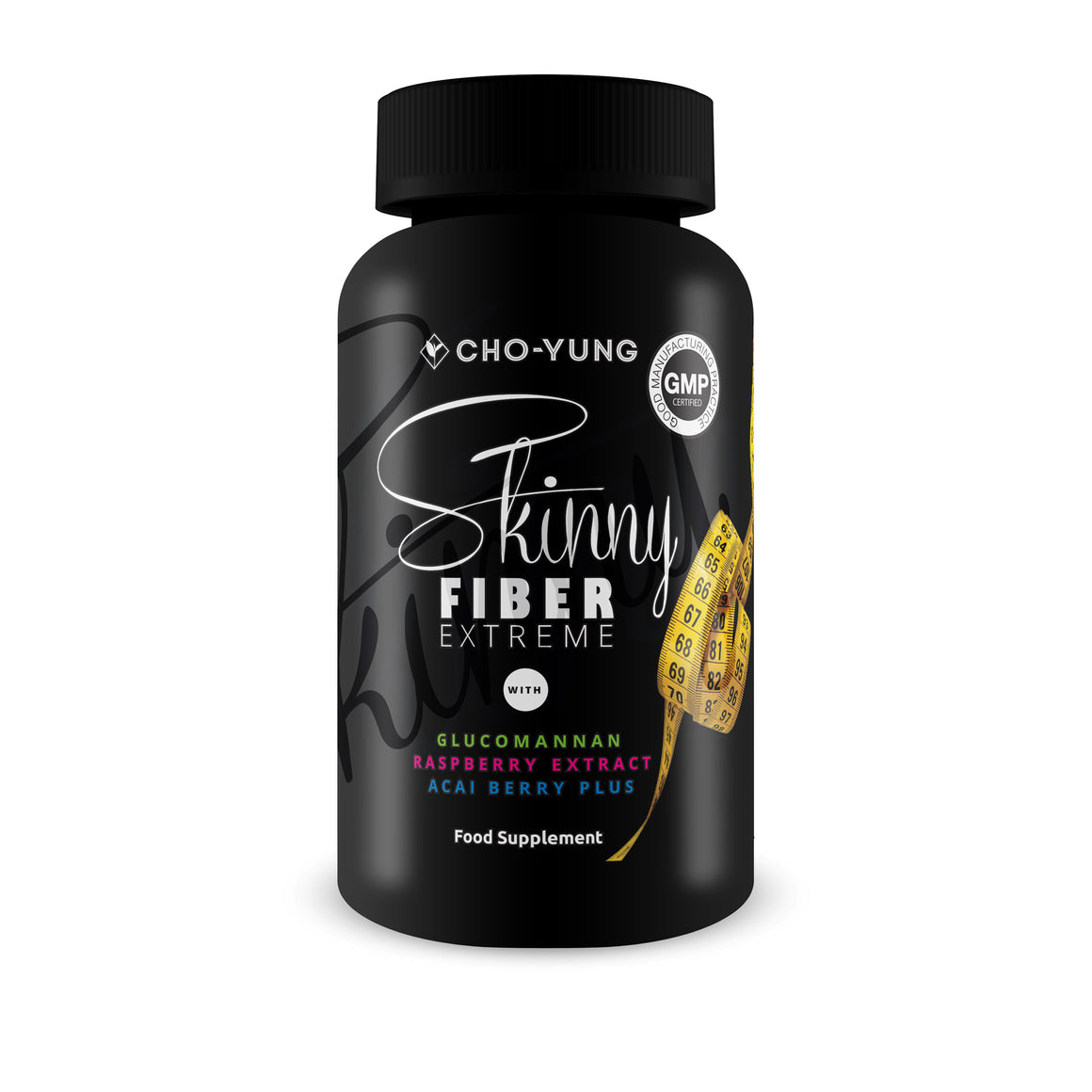 Skinny Fibre Extreme Appetite Suppressant (glucomannan 100% Natural Slimming Aid)