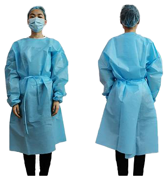 Isolation Gown  PKG QTY 1