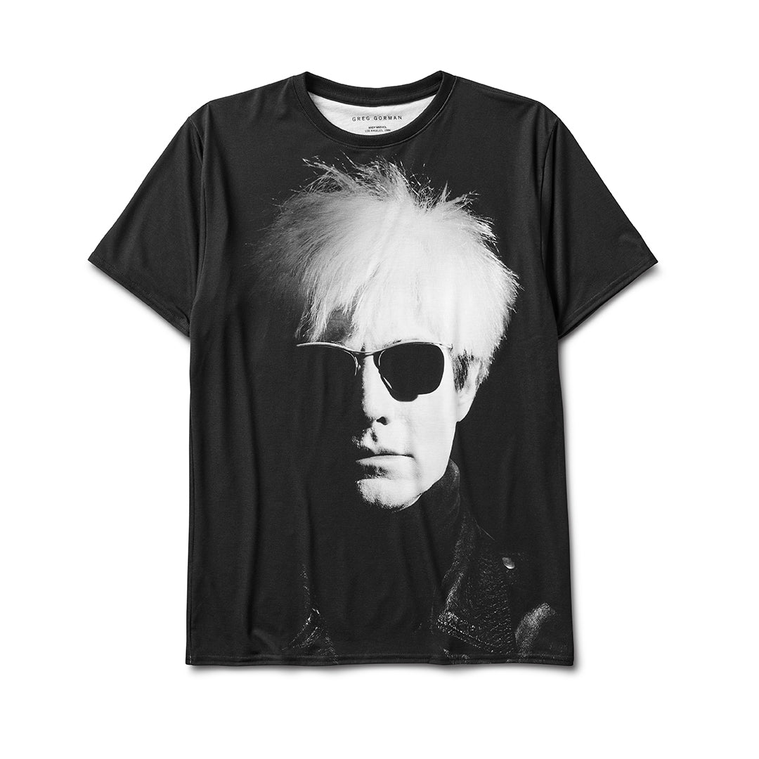 GREG GORMAN ANDY WARHOL ART SHIRT