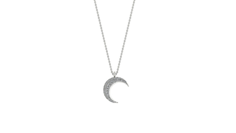 POSITANO MOON NECKLACE