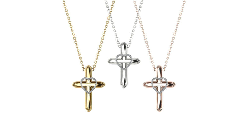 CROSSHEART NECKLACE