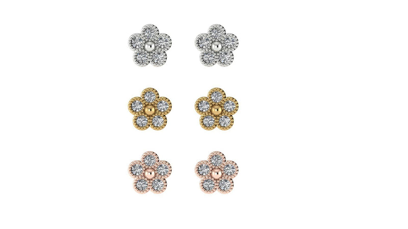 FIORE STUD EARRINGS