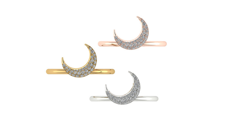 POSITANO MOON RING