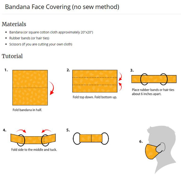 Dick Bandana Face Mask
