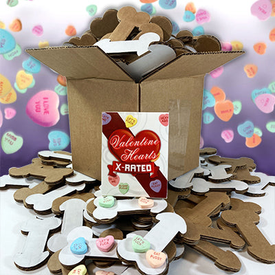 X-Rated Candy Hearts & Box of Dicks