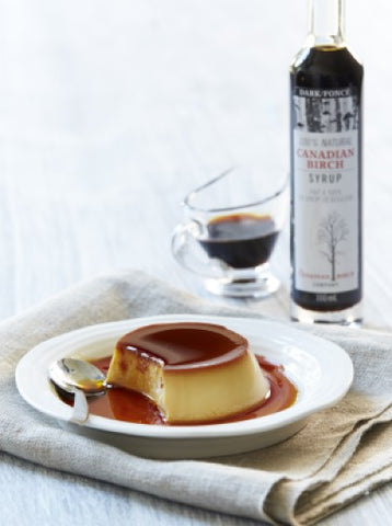 Dark Birch Creme Caramel recipe