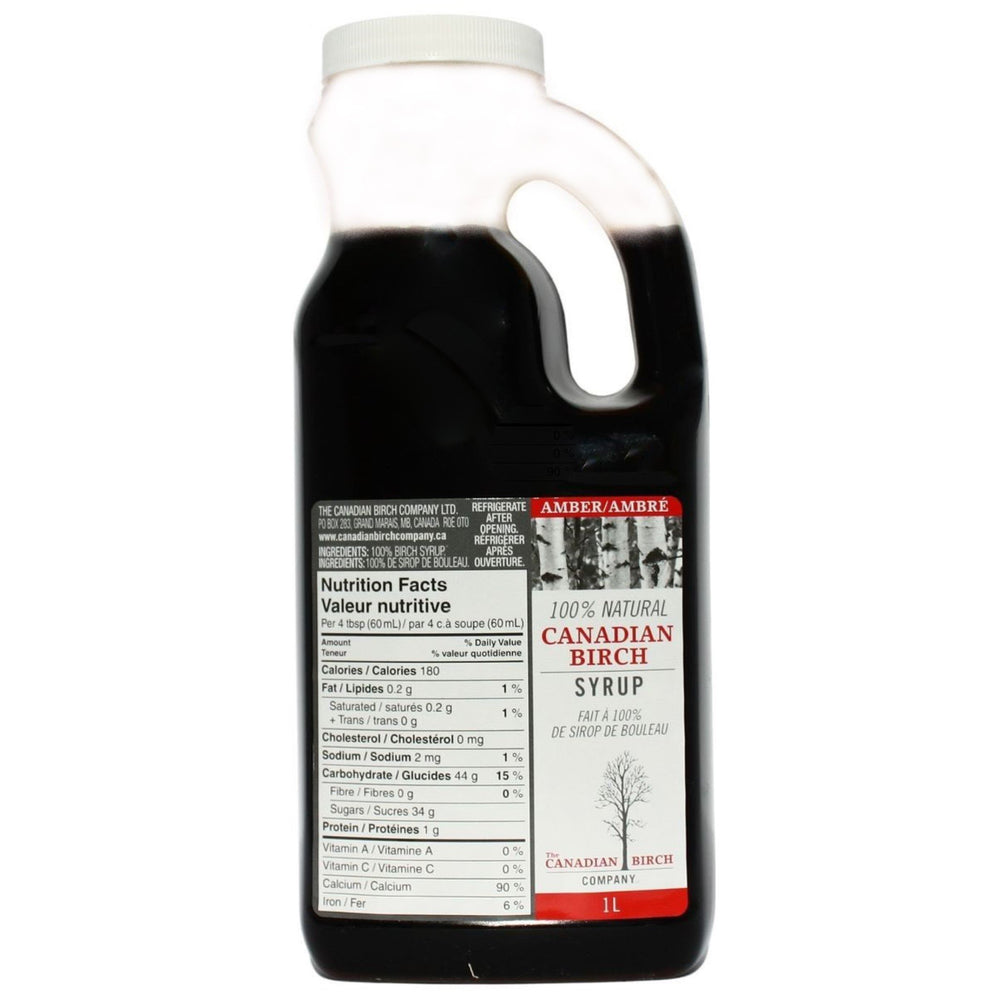 Load image into Gallery viewer, Amber Birch Syrup Pure Birch Syrup The Canadian Birch Company 1000 ml