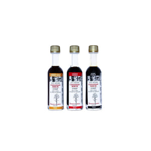 Load image into Gallery viewer, Birch Syrup Trio Pure Birch Syrup The Canadian Birch Company Travel Size