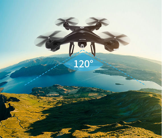 Holy Stone HS100 Red RC Drone GPS Profesional FPV WIFI Camera HD 1080P Selfie RC Quadcopter