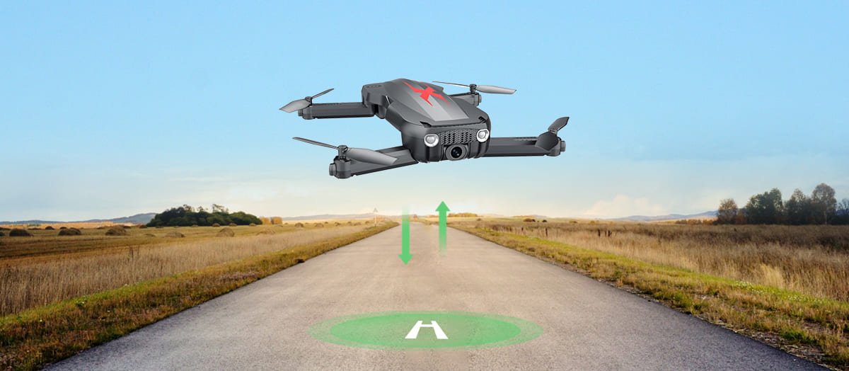 Holy Stone HS160 Pro Optical Flow Drone With Camera HD 1080P FPV Live Video 110 FOV