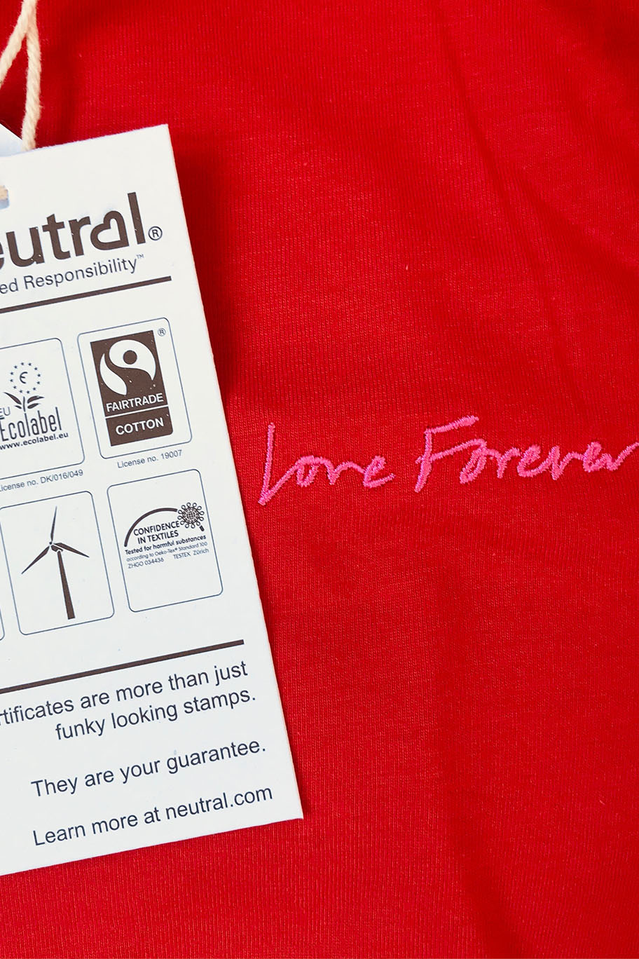 LOVE FOREVER CHARITY TEE