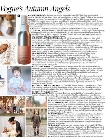 Baby Bottom Spray Vogue UK Feature - British Vogue
