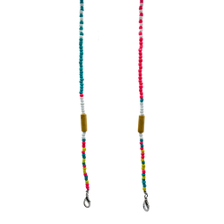 Colourful Beaded Chain
