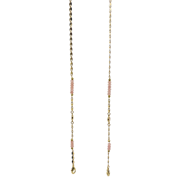 Pink Crystal Chain