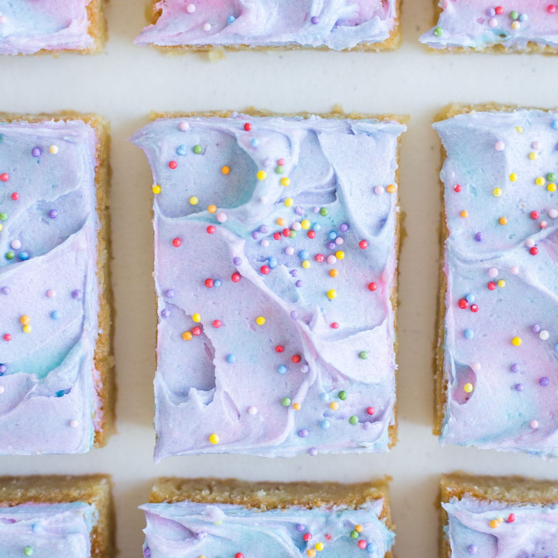 Miss Jones Baking Co Magical Lisa Frank-Inspired Butter Bars image from top