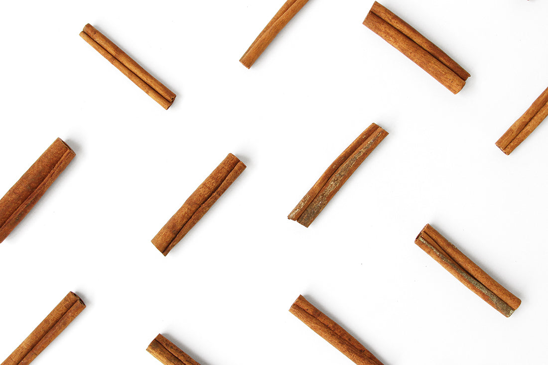 Image from above of cinnamon sticks used for Miss Jones Baking Co Cake Mix Cinnamon Rolls Recipe