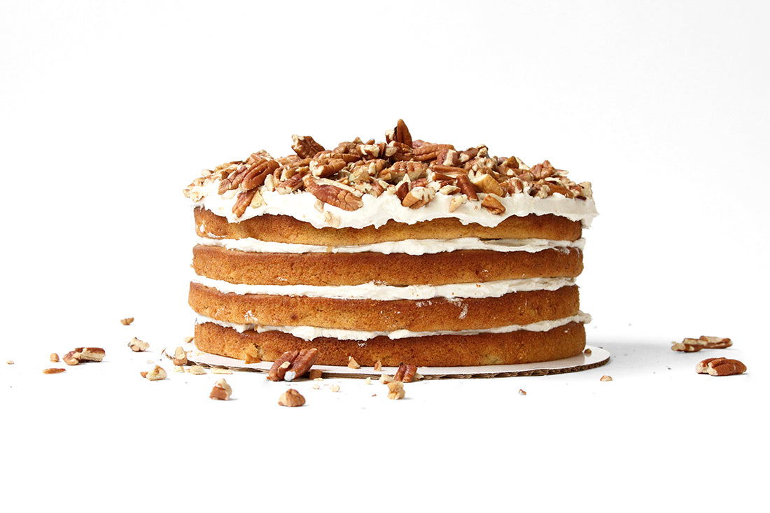 Image of side of Miss Jones Baking Co Classic Hummingbird Cake