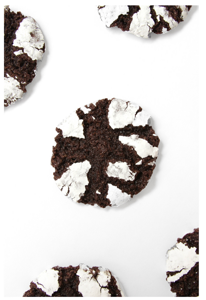Overview of a Miss Jones Brownie Batter Crinkle Cookie Sandwiches