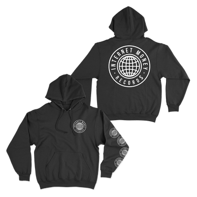 Official Internet Money Globe Hoodie - Black