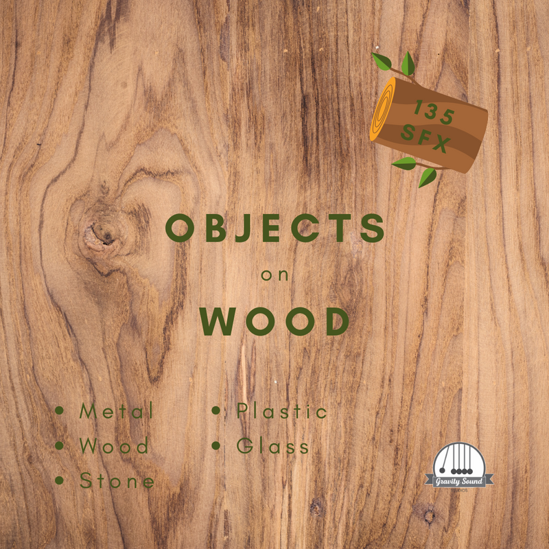 Objects on Wood
