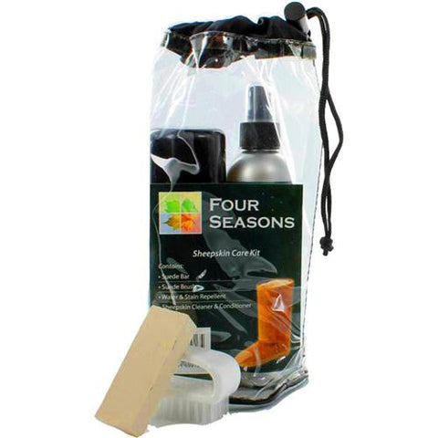 Four Seasons Sheepskin Cleaner and Conditioner Care Kit
