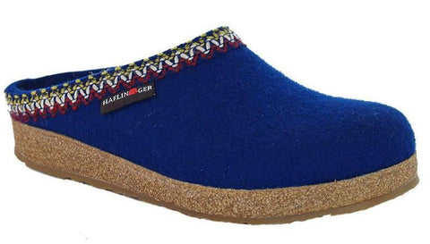 Haflinger Women's Grizzly Zig Zag Clog