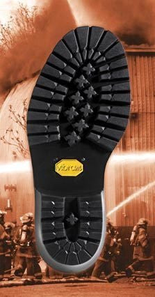 Vibram # 109 Logger Sole and Heel Unit Black