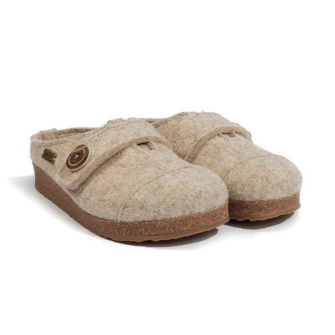 Haflinger Women's Hanna Wool Clogs