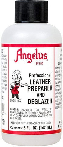 Angelus Leather Preparer and Deglazer 5oz.