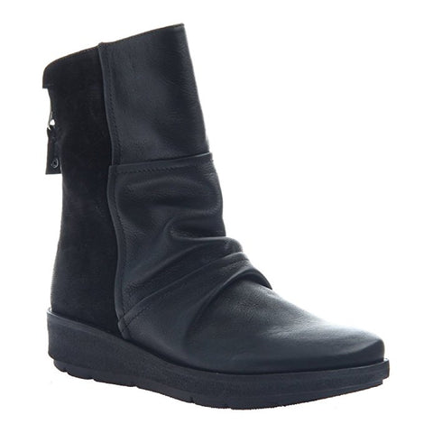 OTBT Women's Mid-Shaft Black Boots