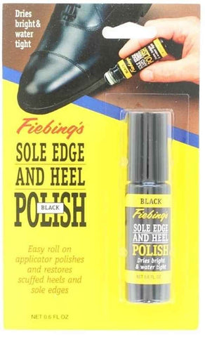 Fiebing 0304901 Adult's Sole Edge and Heel Polish 0.6oz 18ml