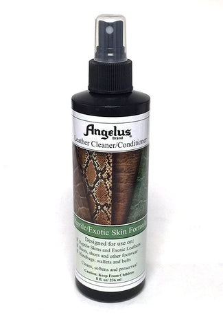 Angelus Reptile & Exotic Skin Cleaner/Conditioner Pump
